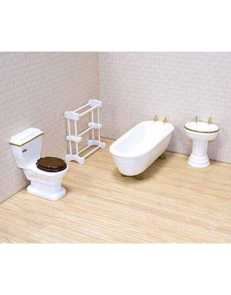 Melissa & Doug Dollhouse Furniture - Bathroom
