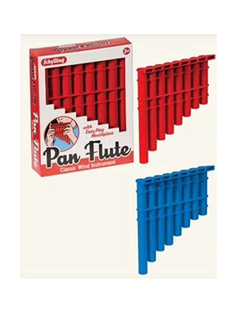 Schylling Toys Pan Flute (Colors Vary)