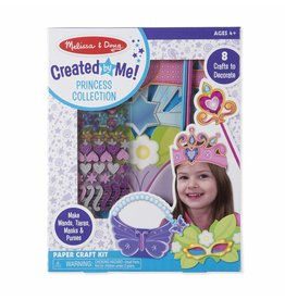 Melissa & Doug Craft Kit Created By Me! Princess Collection