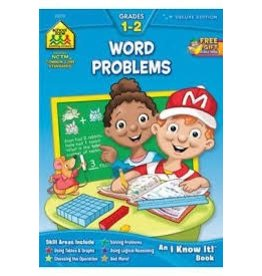 School Zone Workbook - Word Problems - Grade 1-2