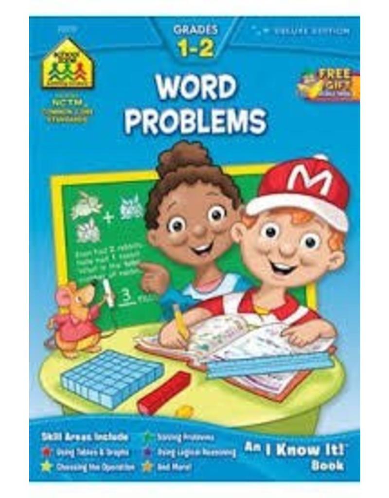 School Zone Workbook - Word Problems - Grade 1-2