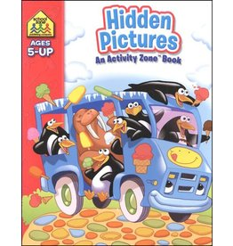 School Zone Workbook - Hidden Pictures Activity