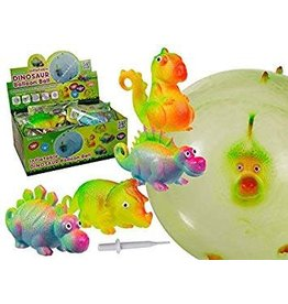 Tedco Toys Dinosaur Balloon Ball