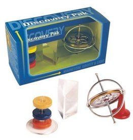 Tedco Toys Discovery Pak - Gyroscope,Prism,Magnets
