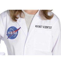Aeromax Costume - Jr. Rocket Scientist Lab Coat, 3/4 Length, size 6/8