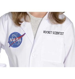 Aeromax Jr. Rocket Scientist Lab Coat, 3/4 Length, size 6/8