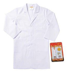 Aeromax Costume - Jr. Lab Coat (3/4 Length, Size 6/8)