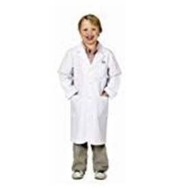 Aeromax Costume - Jr. Lab Coat (3/4 Length, Size 8/10)
