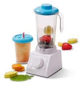 Melissa & Doug Play Food - Smoothie Maker Blender Set