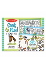 Melissa & Doug Seek and Find Sticker Pads - Animals