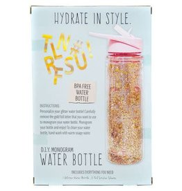 Horizon USA Craft Kit STMT Do It Yourself Monogram Water Bottle