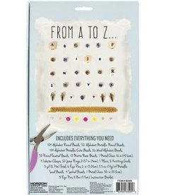 Horizon USA Craft Kit STMT Do It Yourself Alphabet Jewelry