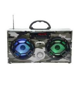 Wireless Express Mini Boom Box Green Camo