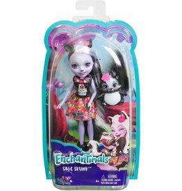 Mattel Enchantimals - Sage Skunk and Caper