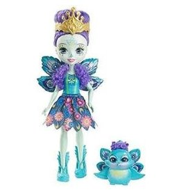 Mattel Enchantimals - Patter Peacock and Flap