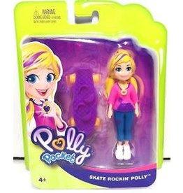 Mattel Polly Pocket Skate Rockin' Polly