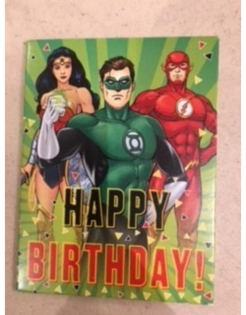 Paper House Production Happy Birthday Justice League Gift Enclosure
