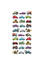 Paper House Production Mini Mixed Cars Puffy Stickers
