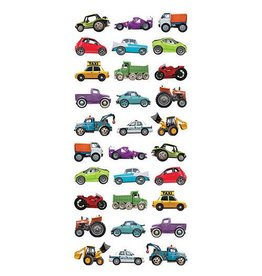 Paper House Production Stickers - Puffy Mini Mixed Cars