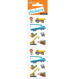 Paper House Production Stickers - Construction Vehicles