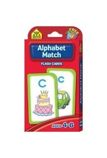 School Zone Flash Cards - Alphabet Match