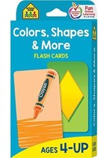 School Zone Flash Cards - Colors, Shapes, & More