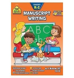 School Zone Workbook - School Zone K-2 Manuscript Writing