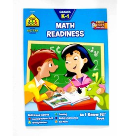School Zone Workbook - School Zone K-1 Math Readiness