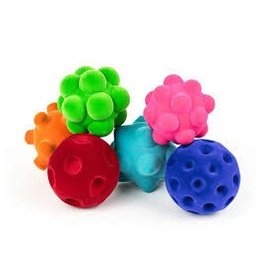 "Rubbabu Rubbabu Medium Assorted Balls (3"") Tray"