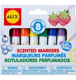 Alex Brands Art Supplies - 8 Scented Markers