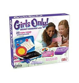 Smart lab Science Kit Girls Only Secret Message lab