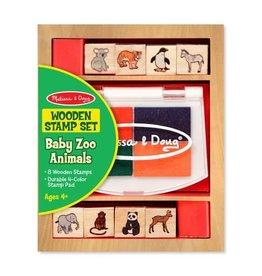 Melissa & Doug Baby Zoo Animals Stamp Set