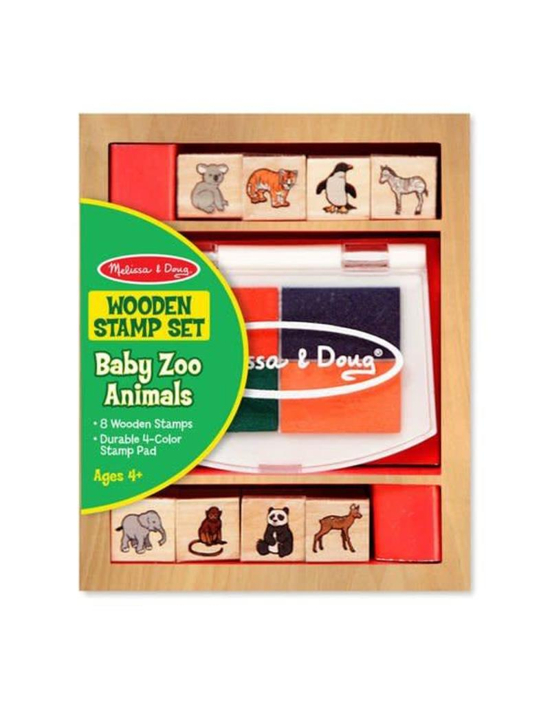 Melissa & Doug Stamp Set - Baby Zoo Animals