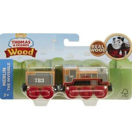 Fisher-Price Thomas & Friends Wood Engine -  Merline the Invisible w/Tender