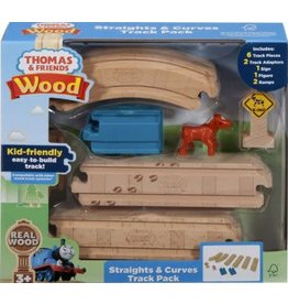Fisher-Price Thomas Wood Straights & Curves Track Pack