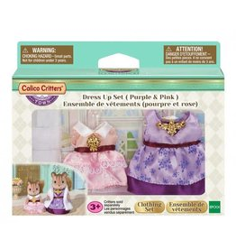 Calico Critters Dress up Set (Purple & Pink)