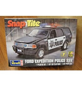 Hobbies Unlimited Snap Tite Ford Expedition Police SSV
