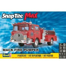 Revell Hobby Model Car Revell SnapTite - Mack Fire Pumper
