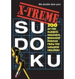 Workman Publishing Co Puzzle Book - X-Treme Sudoku