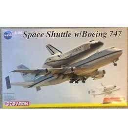 Dragon Hobby - 1/144 Scale Space Shuttle w/Boeing 747 (Display Stand Included)