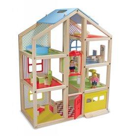 Melissa & Doug High Rise Dollhouse