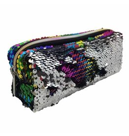 Streamline Rainbow Sequin Slim Bag