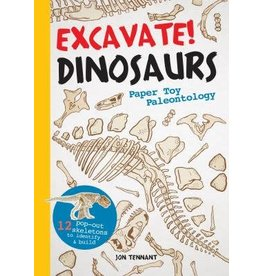 Workman Publishing Co Book - Excavate! Dinosaurs Book