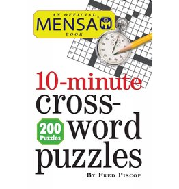 Workman Publishing Puzzle Book - Mensa 10-Minute Crossword