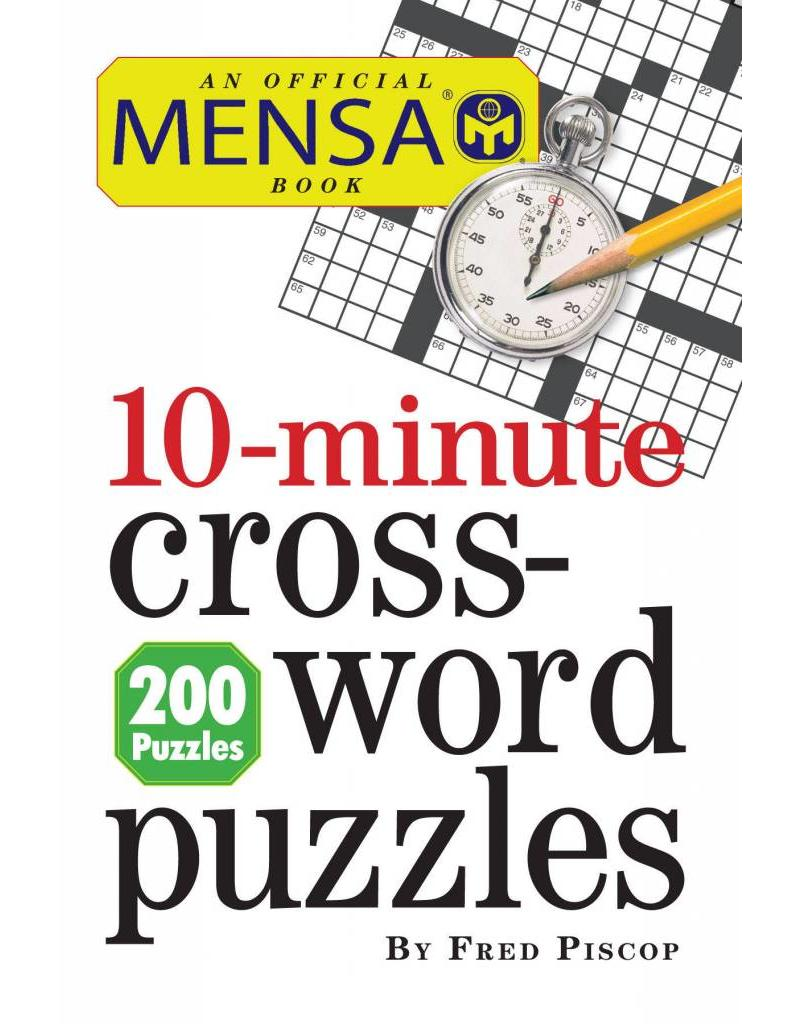 Workman Publishing Co Puzzle Book - Mensa 10-Minute Crossword