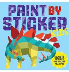 Workman Publishing Co Paint by Sticker - Stegosaurus