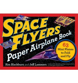 Workman Publishing Co Book - Space Flyers Paper Airplane