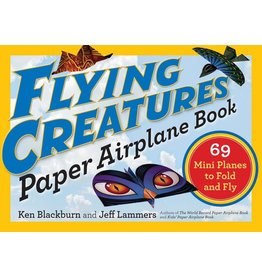 Workman Publishing Book - Flyng Creatures Paper Airplane Book