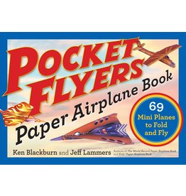 Workman Publishing Co Book - Pocket Flyers Paper Airplane