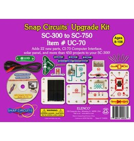 Elenco Snap Circuits Upgrade Kit SC-300 to SC-750